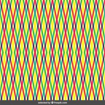 Kleurrijke strepen patroon