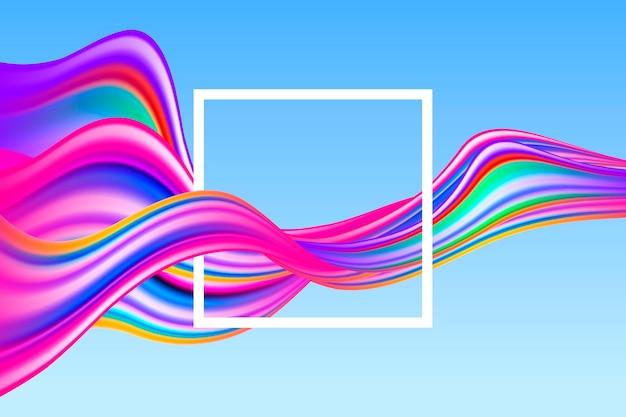 Kleurrijke stroom achtergrond