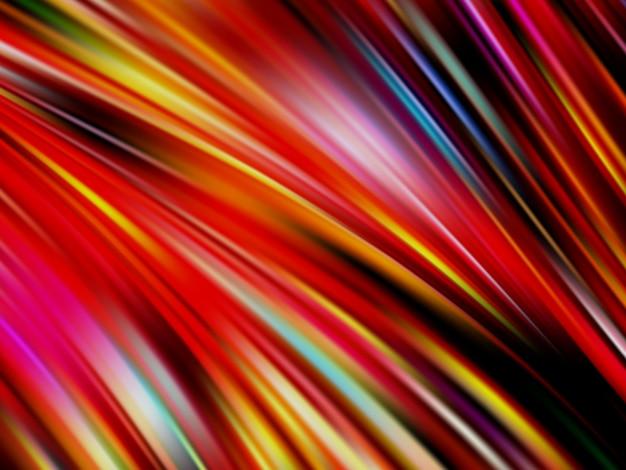 Kleurrijke stroom poster. golf. vloeibare vorm kleur achtergrond. illustratie