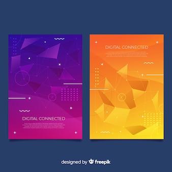 Kleurrijke technologie covers