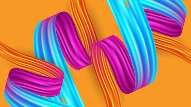 Kleurrijke trendy abstracte achtergrond