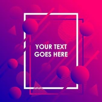 Kleurrijke trendy abstracte geometrische achtergrond