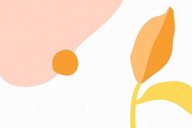 Kleurrijke tropische memphis-achtergrond