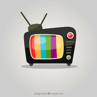 Kleurrijke tv