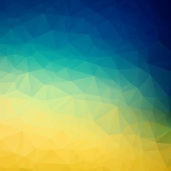 Kleurrijke veelhoek achtergrond