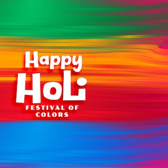 Kleurrijke verf slag aquarel holi festival achtergrond