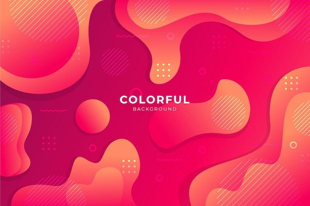 Kleurrijke verloop achtergrond