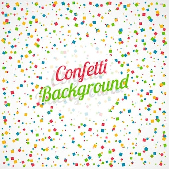 Kleurrijke vierkante confettienachtergrond