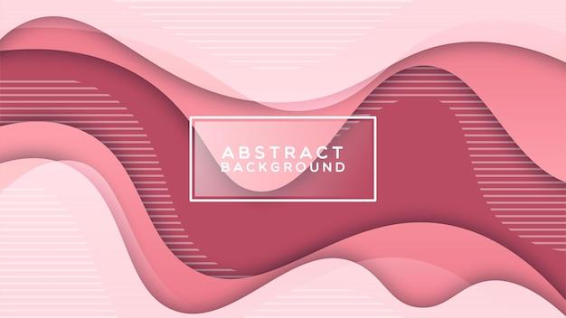 Kleurrijke vloeibare en geometrische achtergrond met vloeiende gradiëntvormen