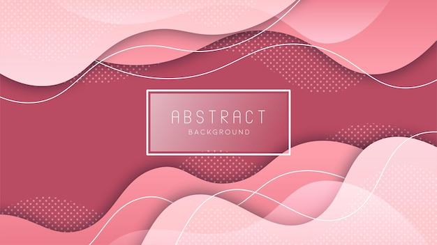 Kleurrijke vloeibare en geometrische achtergrond met vloeiende verloopvormen