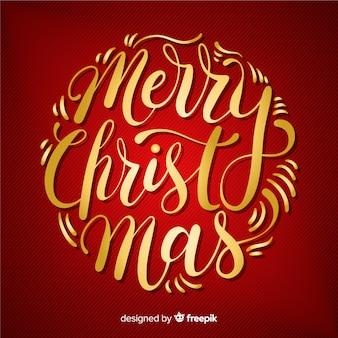 Kleurrijke vrolijke kerst letters