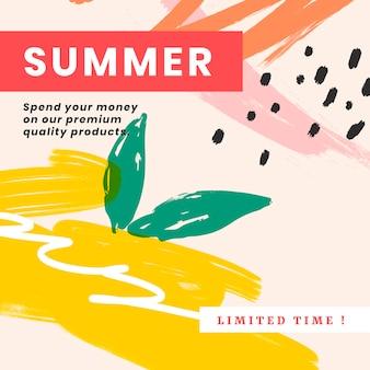 Kleurrijke website banner ontwerp vector set