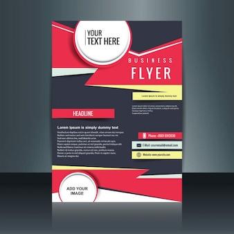 Kleurrijke zakelijke brochure