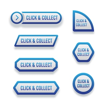 Klik en verzamel knopverzameling