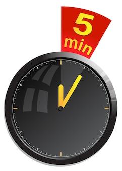 Kloktimer 5 min