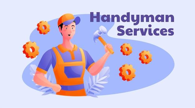 Klusjesman-services en woningreparatie