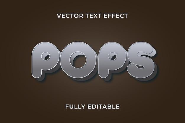 Knalt teksteffect eps