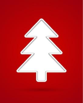 Knip kerstboom uit