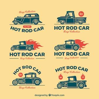 Koele auto logo collectie