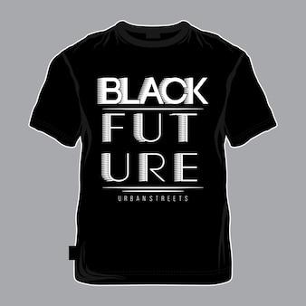 Koele en eenvoudige typografie grafisch voor t-shirt