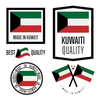 Koeweit kwaliteitslabel set