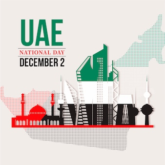 Koeweit verenigde arabische emiraten dagviering