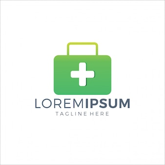 Koffer medisch logo groene kleur