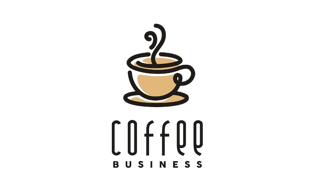 Koffie / cafe-logo ontwerp