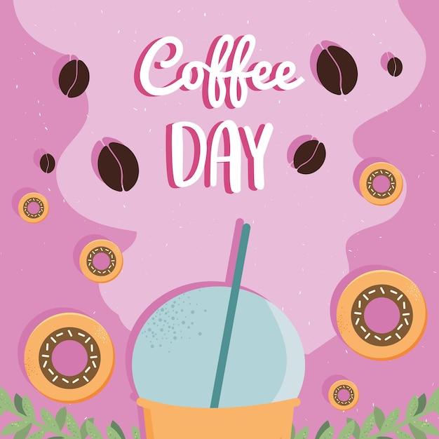 Koffie dag kaart