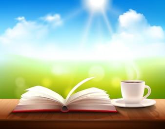 Koffie en boek