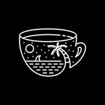 Koffie in het paradijs