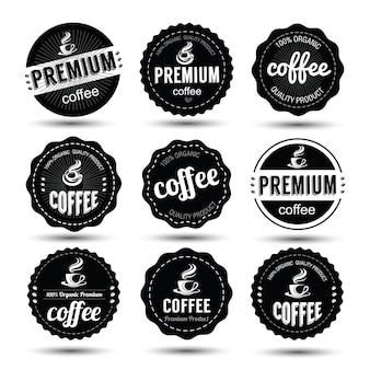 Koffie label