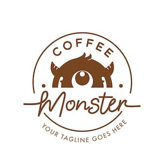 Koffie monster logo