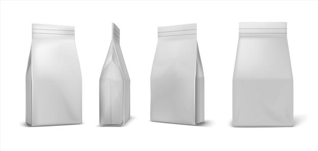 Koffie pakket illustratie