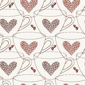 Koffie patroon