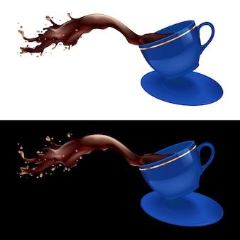 Koffie spatten