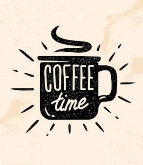 Koffie tijd citaat.