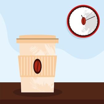 Koffie tijd poster