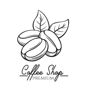 Koffie winkel badge