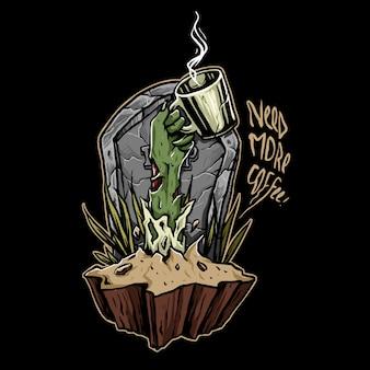 Koffie zombie