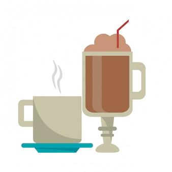 Koffiedranken concept