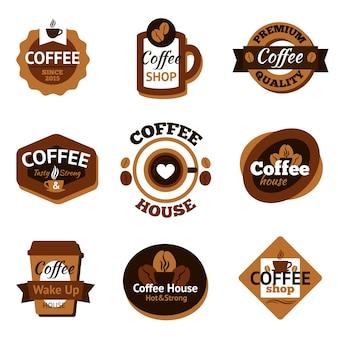 Koffieetiketten instellen
