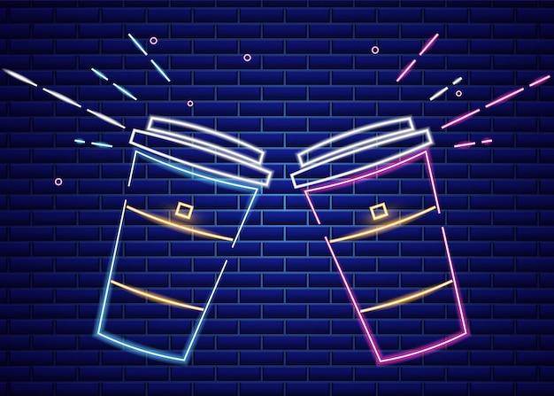 Koffiehuis neonreclame