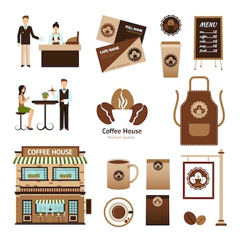 Koffiehuis set