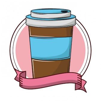 Koffiekopje om te gaan