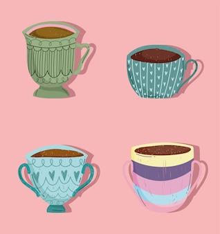 Koffiekopjes set