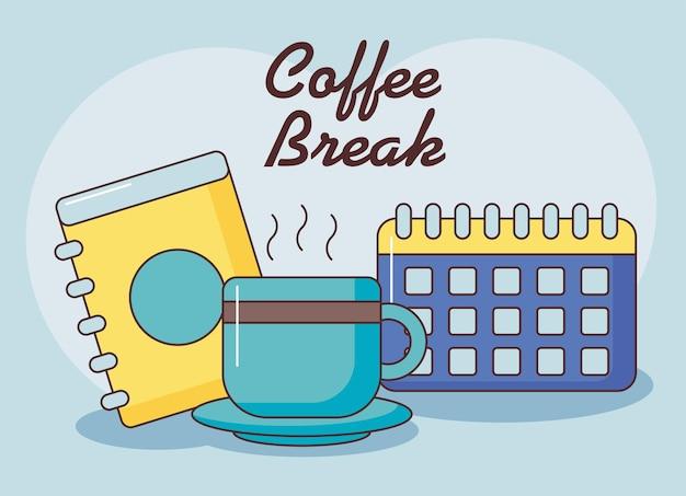 Koffiepauze poster