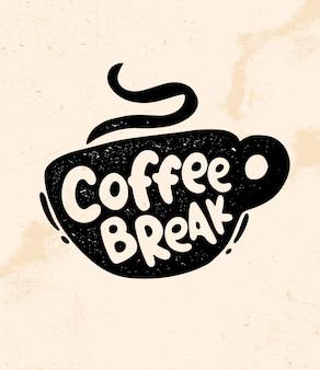 Koffiepauze.