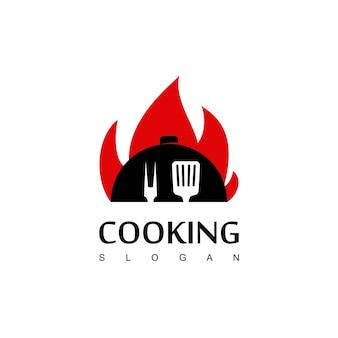 Koken logo ontwerp vector