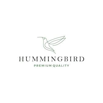 Kolibrie kolibri vogel logo